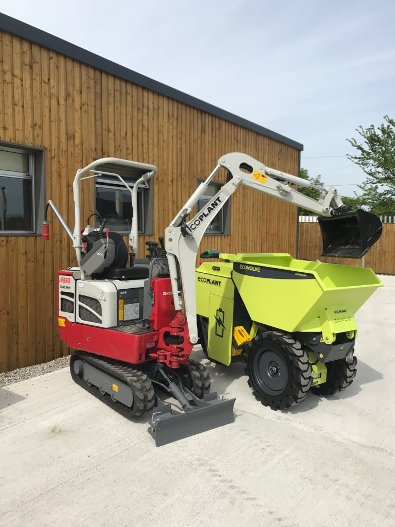 1.3 with Electric Digger Dumper