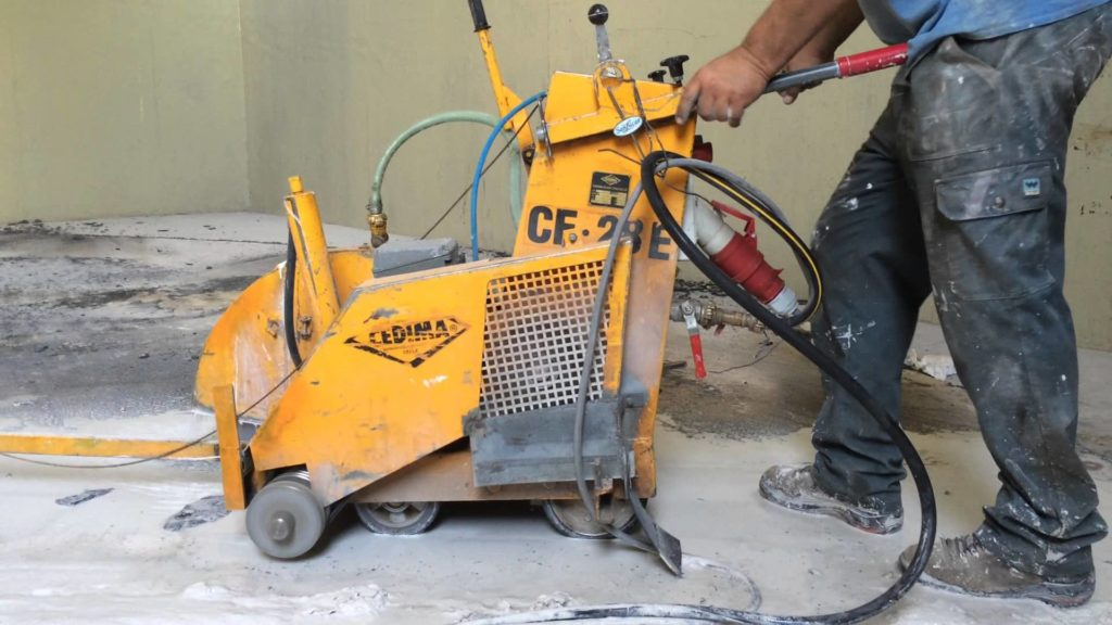 Electric Floor Saw