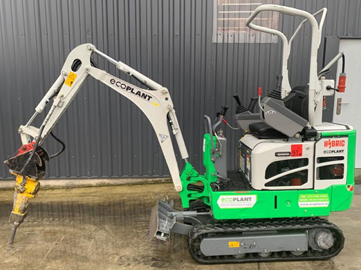 1.3 Ton Electric Digger with Breaker
