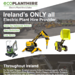Eco Plant Hire - Electric Plant Hire & Sales - February 2020 - Brochure