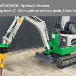 1 Ton Battery Micro Digger Key - Features