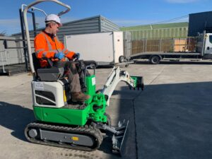 1 Ton Battery Powered Digger from Eco Plant Hire