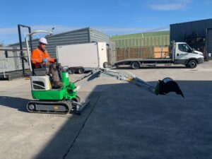 1 Ton Electric Powered Digger from Eco PLant Hire